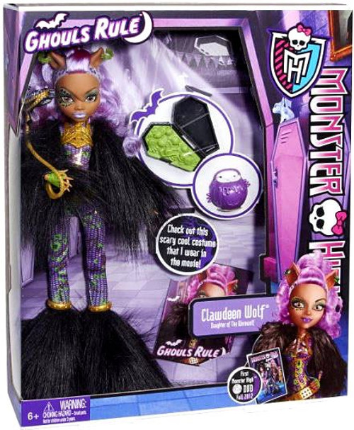 Monster High Ghouls Rule Clawdeen Wolf 10.5-Inch Doll