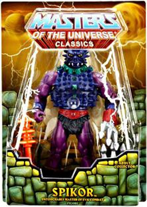 Masters of the Universe Classics Club Eternia Spikor Exclusive Action Figure