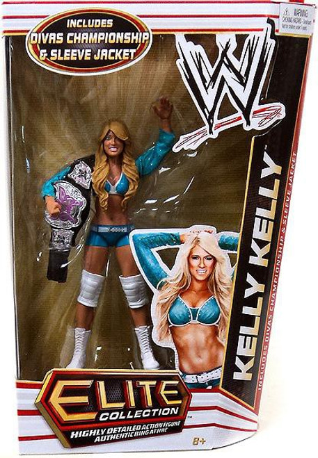 WWE Wrestling Elite Series 17 Kelly Kelly Action Figure [Divas Championship Belt & Sleeve Jacket]