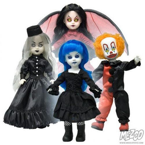 Living Dead Dolls Resurrection Series 6 Set of 4 Exclusive Dolls