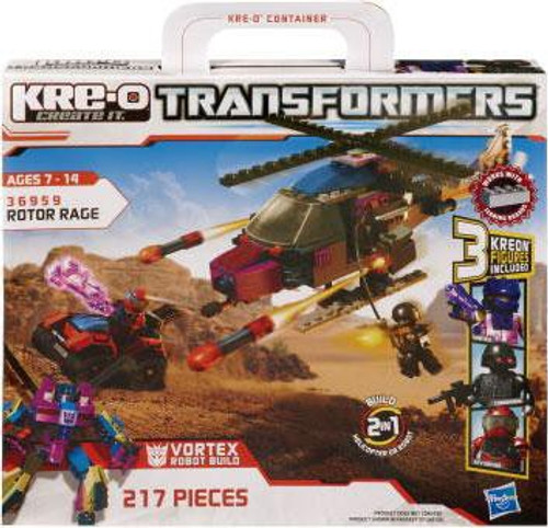 Transformers Kre-O Rotor Rage Set #36959