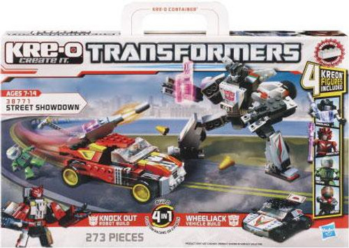 Transformers Kre-O Street Showdown Set #38771