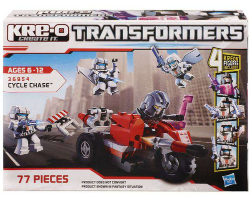 Transformers Kre-O Cycle Chase Set #36954