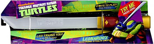 Teenage Mutant Ninja Turtles Nickelodeon Leonardo's Electronic Stealth Sword Roleplay Toy