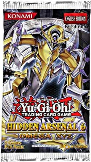 YuGiOh Hidden Arsenal 6: Omega Xyz Booster Pack