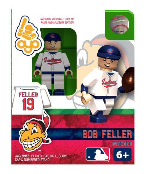 Cleveland Indians MLB Hall of Fame Bob Feller Minifigure
