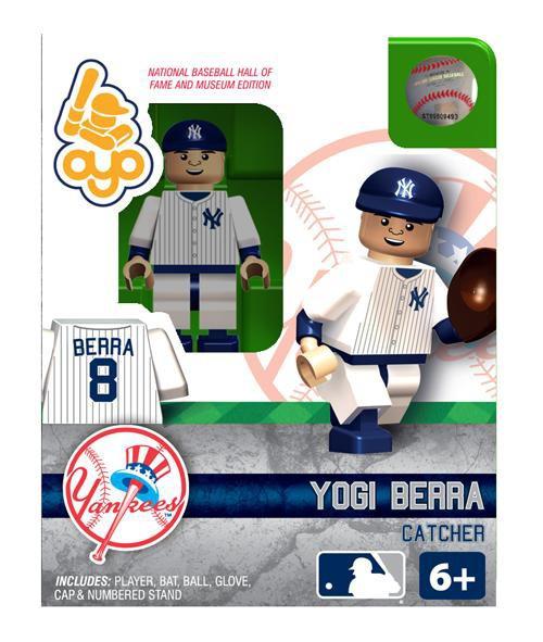 New York Yankees MLB Hall of Fame Yogi Berra Minifigure