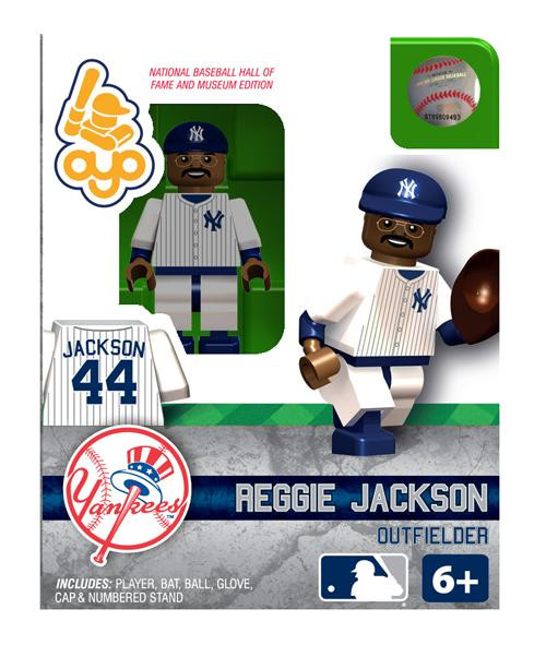 New York Yankees MLB Hall of Fame Reggie Jackson Minifigure