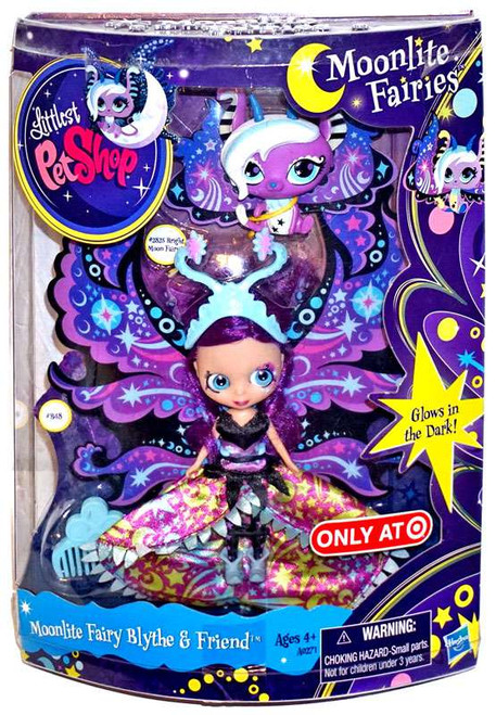Littlest Pet Shop Moonlite Fairies Moonlite Fairy Blythe & Friend Exclusive Figure 2-Pack