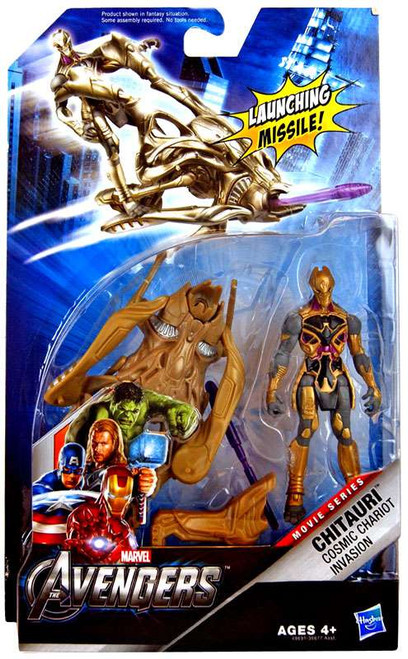 Marvel Avengers Comic Series Cosmic Chariot Invasion Chitauri Action Figure