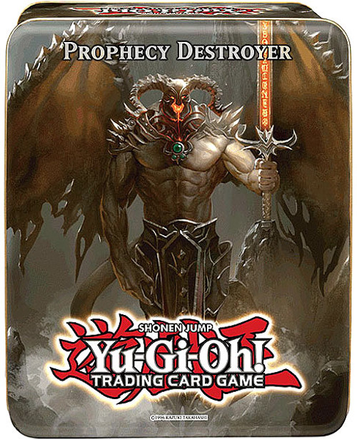 YuGiOh 2012 Collector Tin Prophecy Destroyer Collector Tin [Sealed]