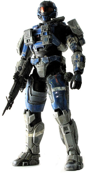 Halo Reach Deluxe Articulated Showcase Commander Carter 1/6 Collectible Figure