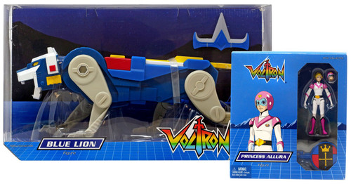Voltron Club Lion Force Blue Lion & Allura Exclusive Action Figure 2-Pack