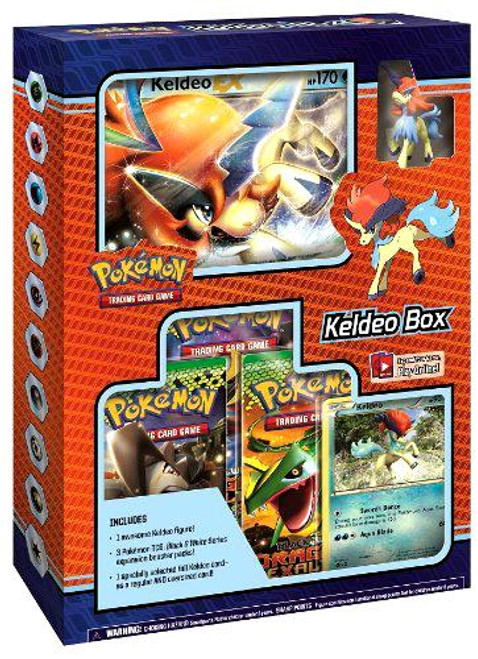 Pokemon Black & White Keldeo Box [Sealed]
