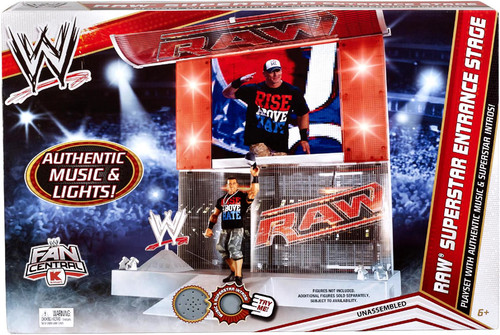WWE Wrestling RAW Entrance Stage Exclusive Superstar Ring