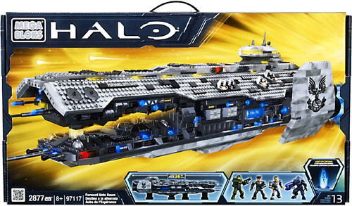 Mega Bloks Halo Forward Unto Dawn Exclusive Set #97117