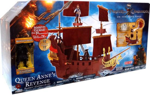 Pirates of the Caribbean On Stranger Tides Queen Anne's Revenge Exclusive Playset