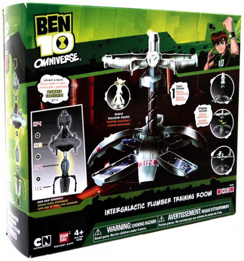 Ben 10 Omniverse Intergalactic Plumber Training Room Playset