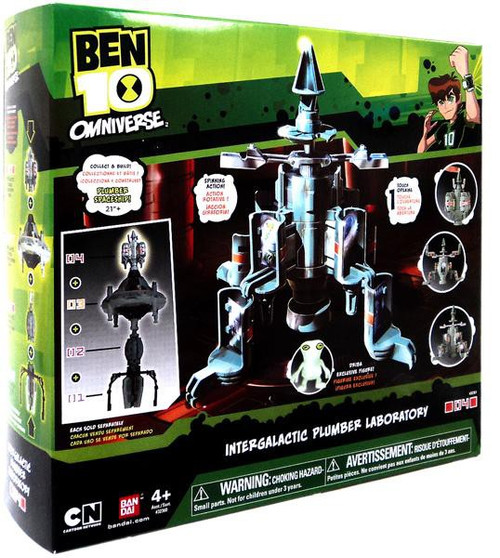 Ben 10 Omniverse Intergalactic Plumber Laboratory Playset