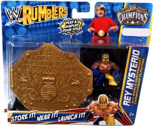 WWE Wrestling Rumblers Champions Rey Mysterio Exclusive Mini Figure