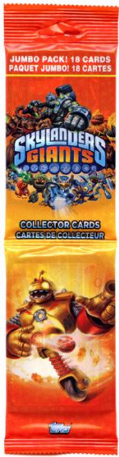 Skylanders Giants Trading Card Jumbo Box