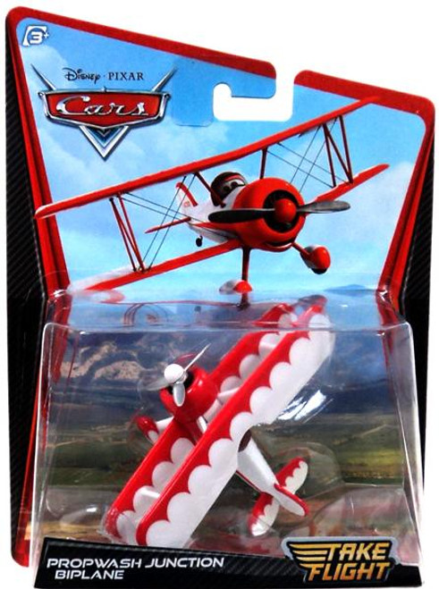 Disney Cars Take Flight Propwash Junction Biplane Diecast Car