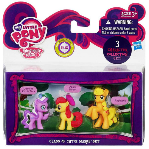 My Little Pony Friendship is Magic Character Collection Sets Class of Cutie Marks Figure Set
