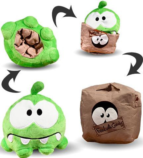 Cut the Rope Reversible Om Nom 6-Inch Plush [Cardboard Box]