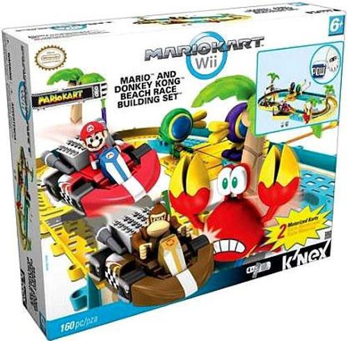 K'NEX Super Mario Mario Kart Wii Mario & Donkey Kong Beach Race Exclusive Set #38155
