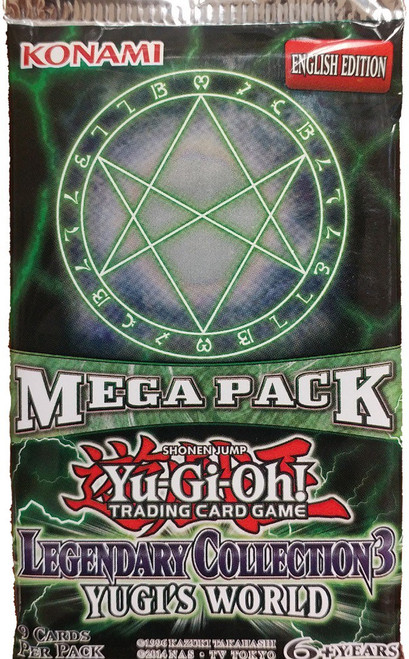 YuGiOh Legendary Collection 3 Booster Pack
