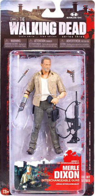 McFarlane Toys Walking Dead AMC TV Series 3 Merle Dixon Action Figure