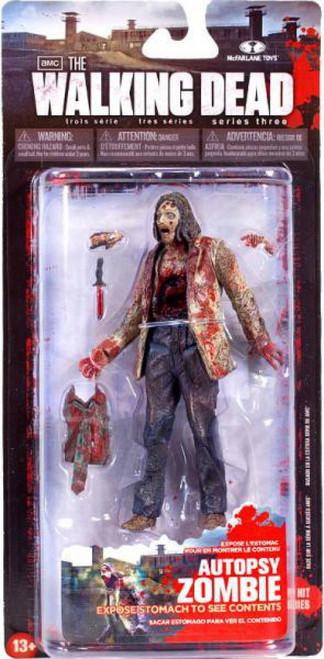 McFarlane Toys Walking Dead AMC TV Series 3 Autopsy Zombie Action Figure