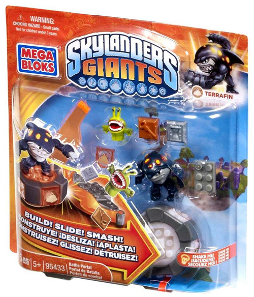 Mega Bloks Skylanders Giants Battle Portals Series 1 Terrafin Battle Portal Set #95433