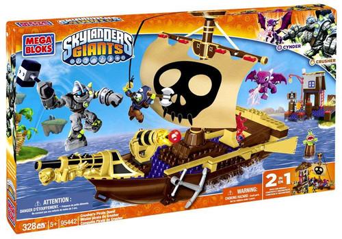 Mega Bloks Skylanders Giants Crusher's Pirate Quest Set #95442