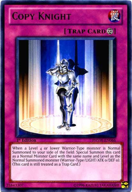 YuGiOh Zexal Photon Shockwave Rare Copy Knight PHSW-EN066