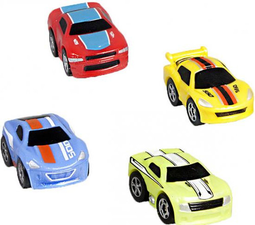 Nano Speed Nano V8 Micro Car 4-Pack [Random Cars]