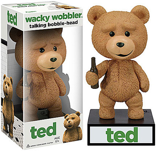 Funko Ted Movie Wacky Wobbler Ted Talking Bobble Head