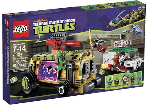 LEGO Teenage Mutant Ninja Turtles Shellraiser Street Chase Set #79104