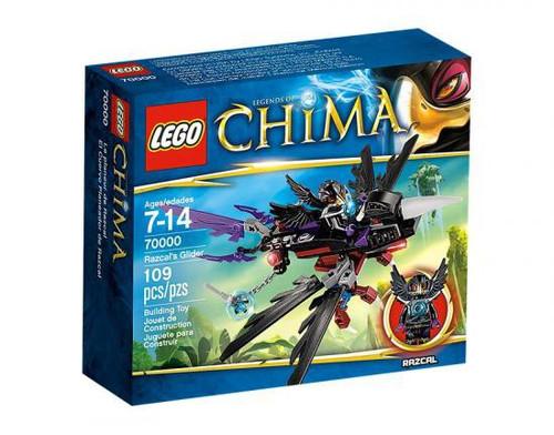 LEGO Legends of Chima Razcal's Glider Set #70000