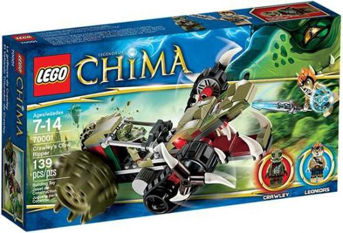 LEGO Legends of Chima Crawley's Claw Ripper Set #70001