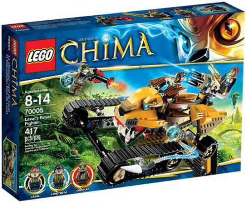 LEGO Legends of Chima Laval's Royal Fighter Set #70005