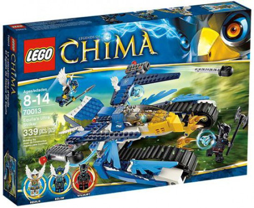 LEGO Legends of Chima Equila's Ultra Striker Exclusive Set #70013