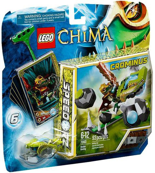 LEGO Legends of Chima Boulder Bowling Set #70103