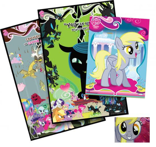 "My Little Pony ""D"" Poster Set Exclusive F41"