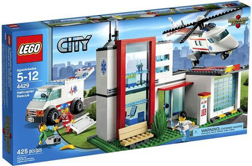 LEGO City Helicopter Rescue Exclusive Set #4429