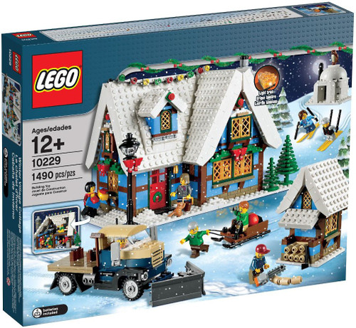 LEGO Christmas Winter Village Winter Village Cottage Exclusive Set #10229