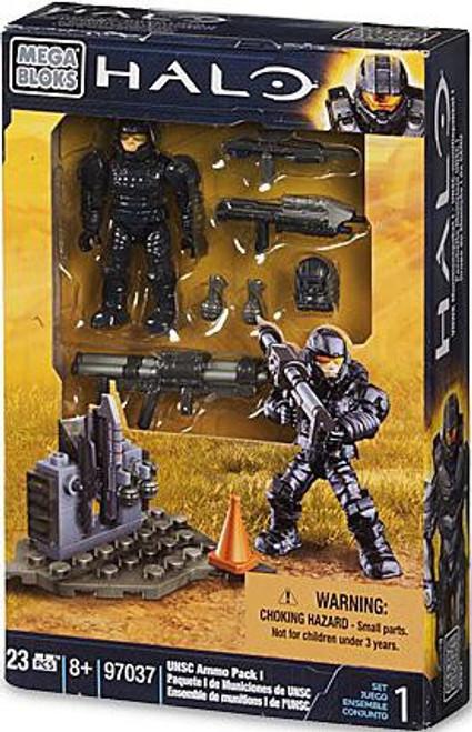 Mega Bloks Halo UNSC Ammo Pack I Set #97037