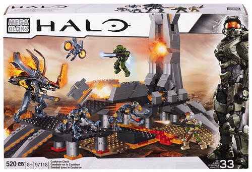 Mega Bloks Halo Cauldron Clash Set #97118