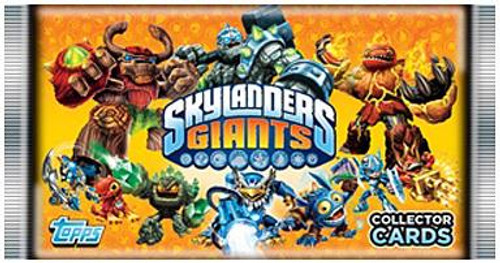 Skylanders Giants Trading Card Pack