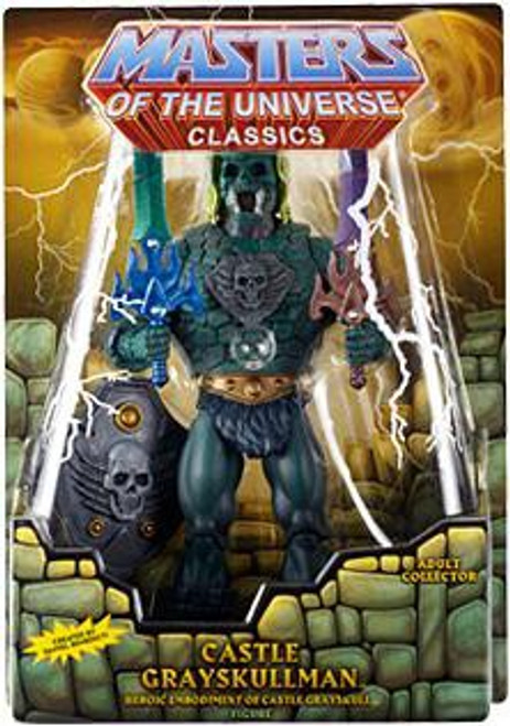 Masters of the Universe Classics Club Eternia Castle Grayskull Man Exclusive Action Figure
